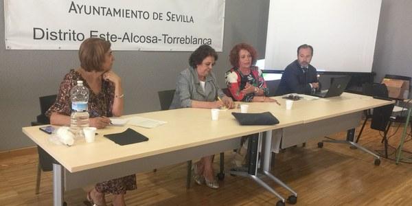 Jornada sobre el Plan Estratégico Sevilla 2030 celebrada en el Distrito Este - Alcosa - Torreblanca
