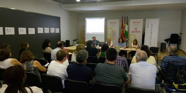 Jornada sobre el Plan Estratégico Sevilla 2030 celebrada en el Distrito Norte