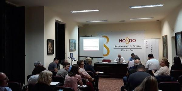Jornada sobre el Plan Estratégico Sevilla 2030 celebrada en el Distrito Sur