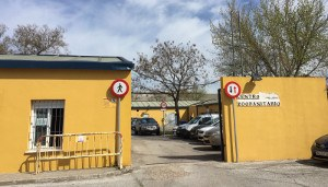 Entrada al Centro Zoosanitario