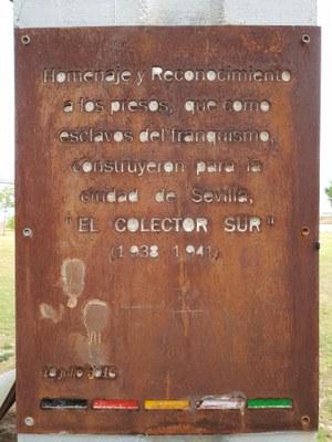 placa colector