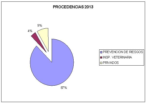 Procedencias Medicina 2013
