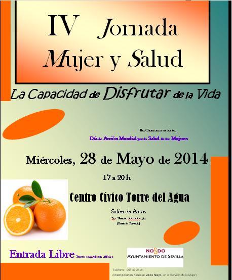 Cartel IV Jornada Mujer y Salud
