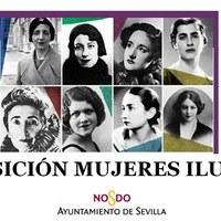 Cartel Exposición Mujeres Ilustres