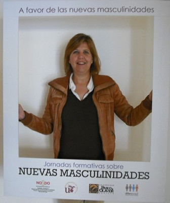 Foto Mujer en Photocall
