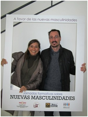 Foto Mujer y Hombre PhotoCall