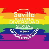 SEVILLA LOGO LGTBI 2018 4O Aniversario