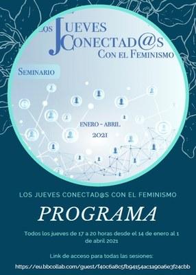 PORTADA ESPACIO PENSAMIENTO FEMINISTA 2021