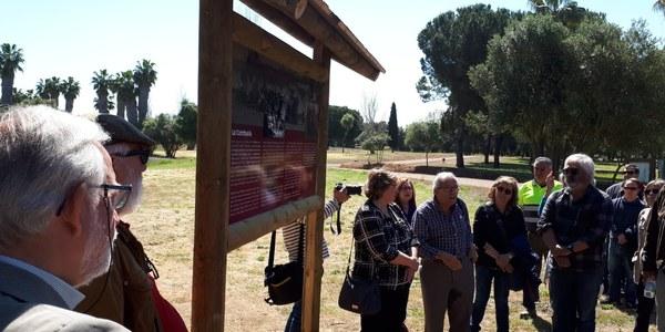 Señalizado el campo de concentración de La Corchuela (Dos Hermanas. SEVILLA)