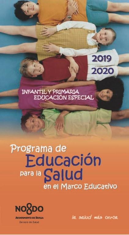 PORTADA CUADERNO EDUCACION INFANTIL Y PRIMARIA. ESPECIAL. CURSO 2019-2020.