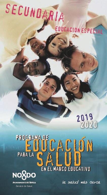 PORTADA CUADERNO DE OFERTA SECUNDARIA. CURSO 2019-2020