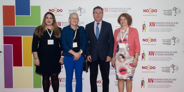 """El alcalde de Sevilla califica la educación como """"el motor del cambio"""" de la sociedad durante la inauguración del XIV Encuentro Estatal de la Red de Ciudades Educadoras"""