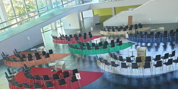 Encuentro RECE - El espacio Ágora: más de 30 experiencias innovadoras