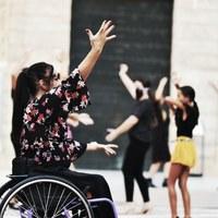 Flashmob - Pregón | Archivo Fotográfico Bienal de Flamenco © Fotógrafa: Claudia Ruiz Caro