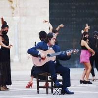Archivo Fotográfico Bienal de Flamenco © Fotógrafa: Claudia Ruiz Caro / Pregón - Flashmob 2020