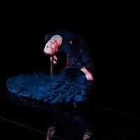 Archivo Fotográfico Bienal de Flamenco © Fotógrafa: Claudia Ruiz Caro /   Rocío Molina, Eduardo Trassierra y Yerai Cortés - Al Fondo Riela (Lo otro de Uno)