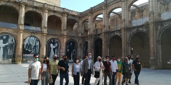 El Monasterio de San Jerónimo acoge durante el mes de agosto el flamenco más experimental de la mano de La Bienal