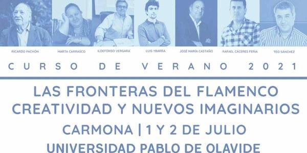 La Bienal colabora en los cursos de flamenco de verano de la UPO
